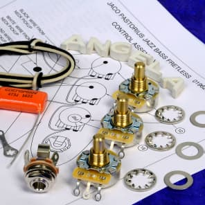 Excellent Angela Instruments Level 2 Wiring Kit For Fender Precision Reverb Wiring 101 Akebretraxxcnl
