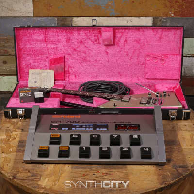 Roland G-707 and GR-700 Guitar Synth