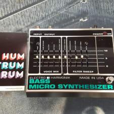 Electro Harmonix Vintage Bass Micro Synthesizer