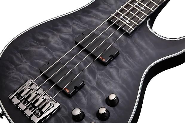 schecter hellraiser extreme 4 see thru black satin stbls bass reverb. Black Bedroom Furniture Sets. Home Design Ideas