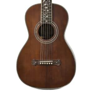 Washburn R320SWRK Solid Spruce/Rosewood Parlor Guitar Natural 2016