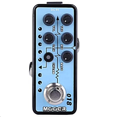 Mooer 018 Custom 100 Micro Preamp Guitar Effects Pedal 2018