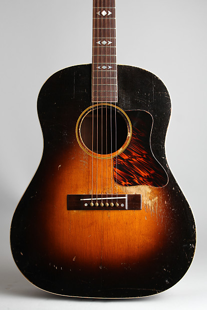 gibson advanced jumbo flat top acoustic guitar 1937 ser. Black Bedroom Furniture Sets. Home Design Ideas