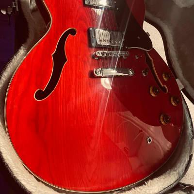 Vester  Mod 700 Transparent Red + Hard Case for sale