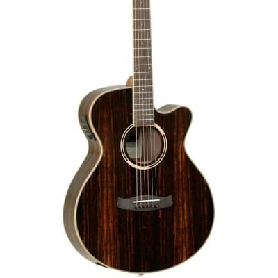 Tanglewood Discovery Super Folk cutaway Electro Acoustic Guitar Natural Satin for sale