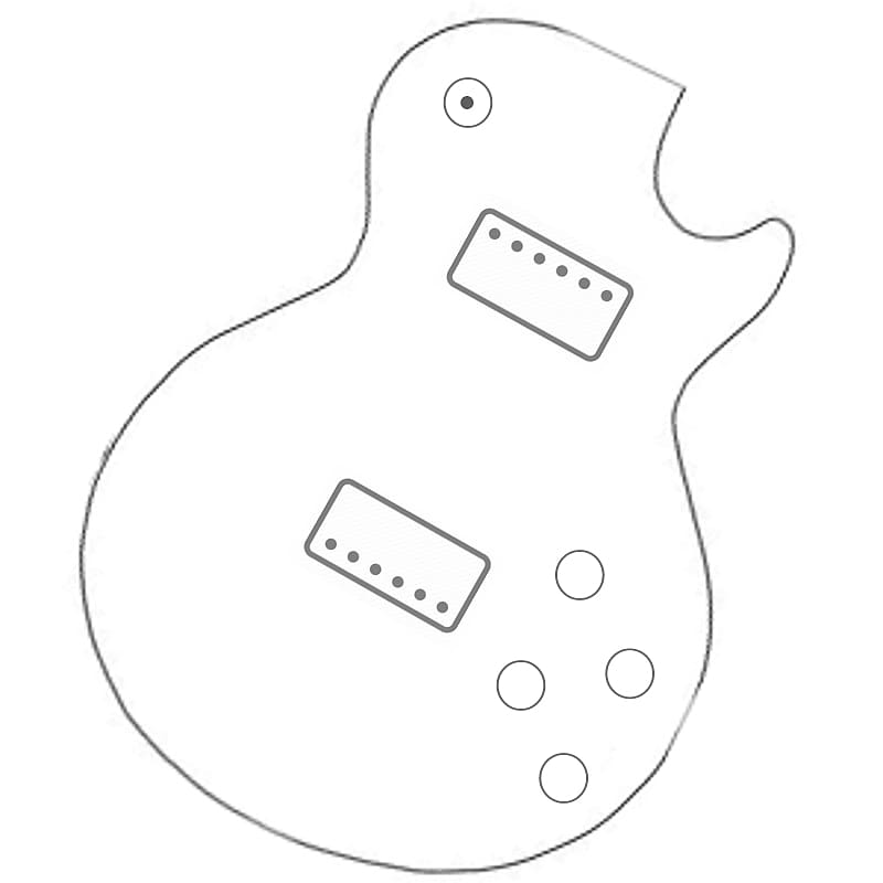 les paul style wiring harness  pull volumes to
