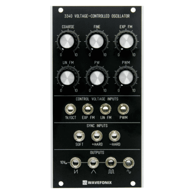 Wavefonix 3340 Voltage-Controlled Oscillator (VCO) Classic Edition