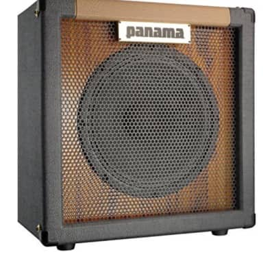 Panama Guitars 1x12 Speaker Cabinet Black and Brown for sale