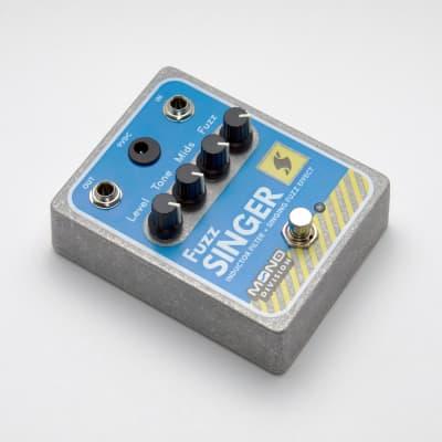 Mono Division Fuzz Singer — Inductor Filter Singing Fuzz Pedal — Feedback Generator