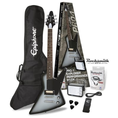 Epiphone PRO-1 Explorer Performance Pack - Silverburst for sale