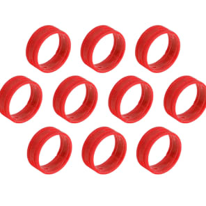 SuperFlex GOLD SFC-BAND-RED-10PK Colored Cable ID Rings (10-Pack)