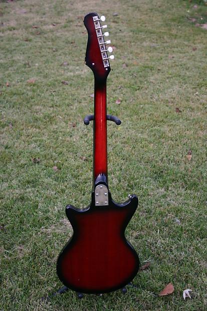 teisco kawai 60 39 s japan guitar w original hardshell case reverb. Black Bedroom Furniture Sets. Home Design Ideas