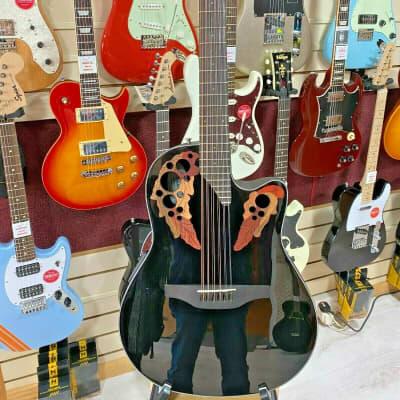 Ovation Celebrity Elite 12-String Electro Acoustic CE4412 12 Mid Depth Black for sale