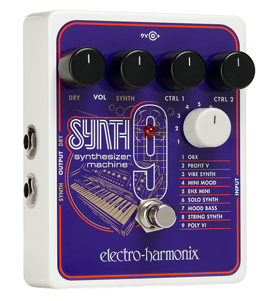 electro harmonix synth9 in stock safe haven music reverb. Black Bedroom Furniture Sets. Home Design Ideas