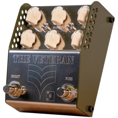 Thorpy FX The Veteran Si V2 Boost/Fuzz Dual Effects Pedal for sale