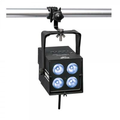 Stagg SLI BAT-48-1 Battery-Powered PARcan 4 x 8-Watt (6 in 1) LED w/Wireless DMX & Remote Control