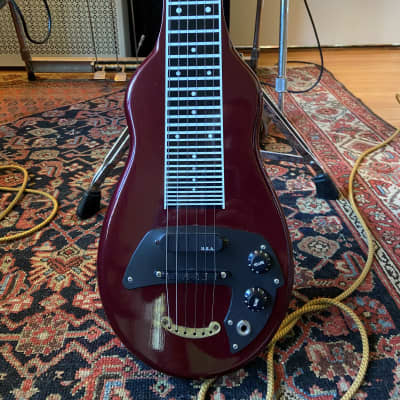 Melobar Rattler  Lap Steel Red for sale