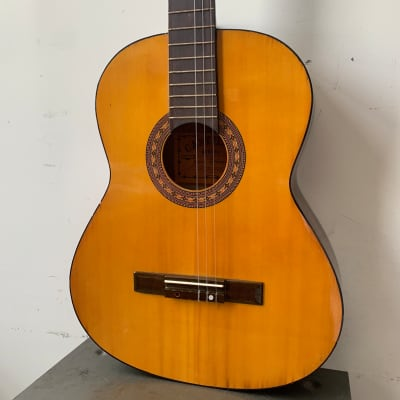 Castilla CN6N Classical Guitar 1980's Natural for sale