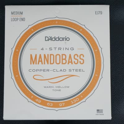 NEW D'Addario J79 Copper Mandobass Strings, 49-130