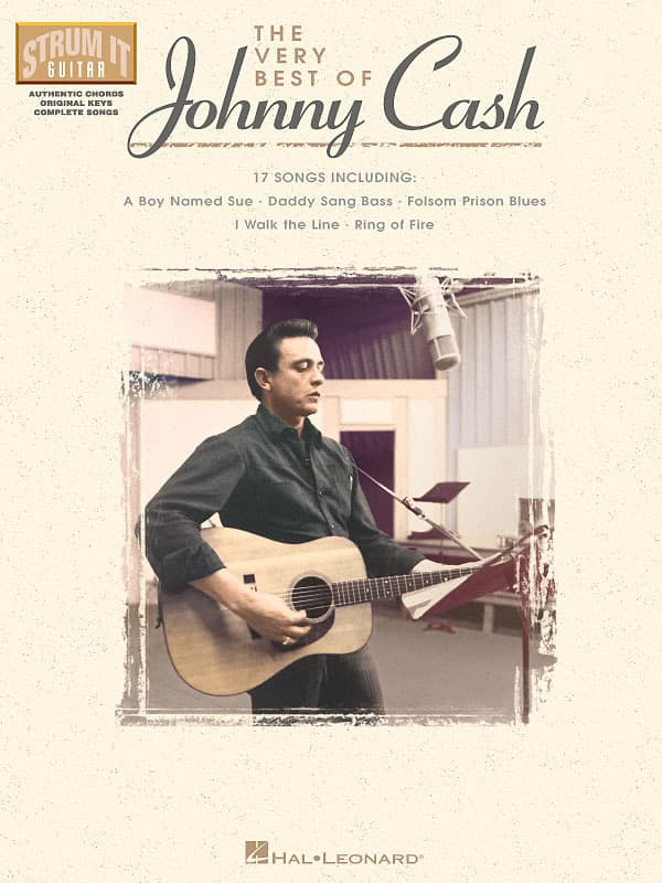 The Very Best Of Johnny Cash Strum It Guitar My Music