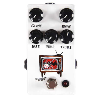 JHS Angry Charlie JCM800 Channel Drive Hand Painted 'Television' image