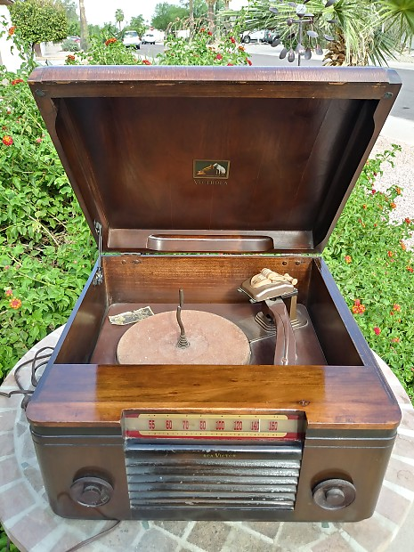 Vintage Rca Victor Victrola Model 65u