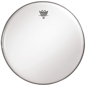 "Remo Ambassador Smooth White Bass Drum Head 32"""