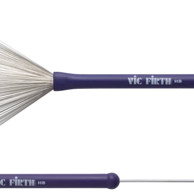 Vic Firth Heritage Brush rubber handle Drumsticks