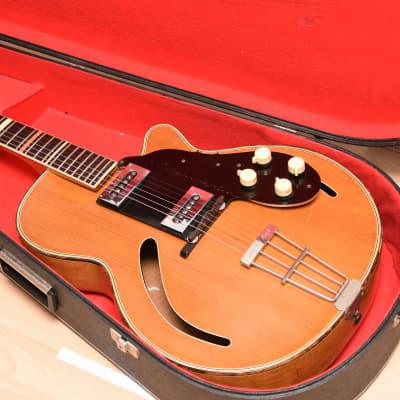 Hopf / Gustav Glassl 319 SL + Case! – 1950s German Vintage Archtop Jazz Guitar / Gitarre for sale