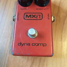 Vintage MXR Dyna Comp Block Logo Script Back