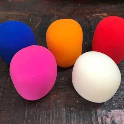 SMC Random Colors Microphone Windscreens - 5 PACK