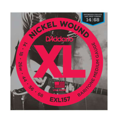 D'Addario Nickel Wound Baritone Medium 14-68