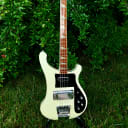 All Original 1976 Rickenbacker 4001 Tuxedo White Excellent Condition with Original Hardshell Case