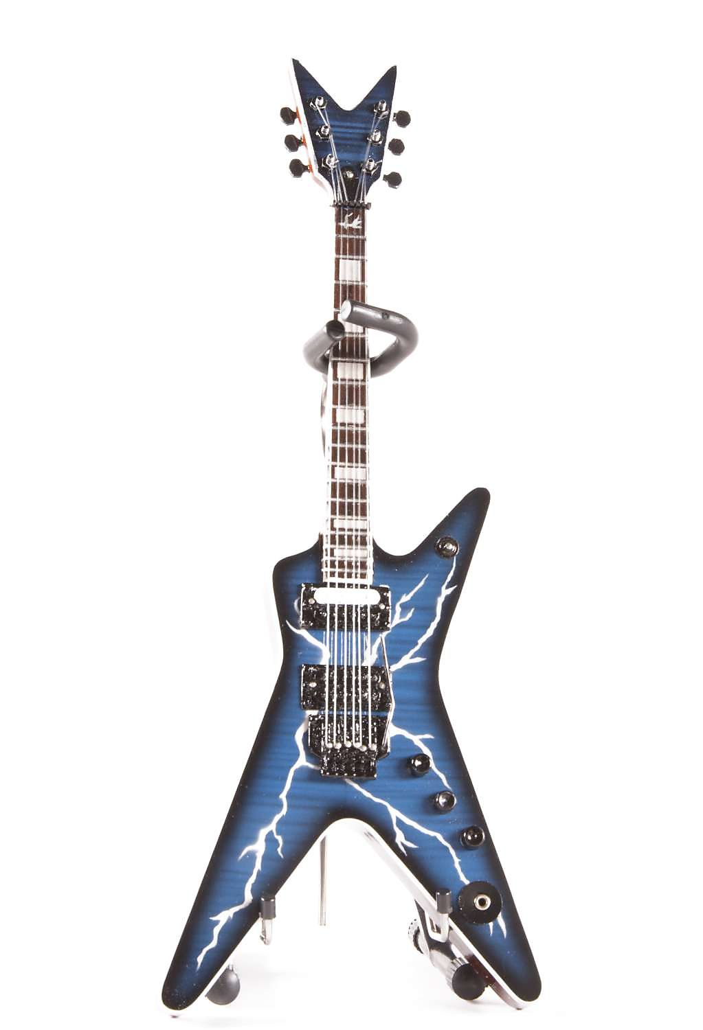 Axe Heaven DD-001 Dimebag Lightning Guitar Miniature ...Dimebag Darrell Lightning Guitar