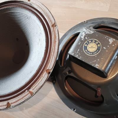 "Binson  15"" Alnico Guitar Speaker 1967 (Extremely Rare)"