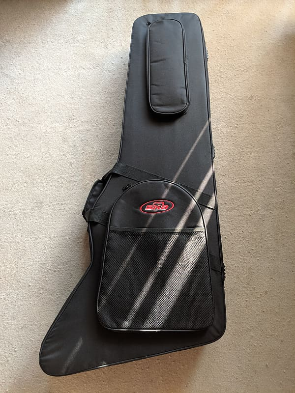 feb482bc72 SKB Gibson/Epiphone Explorer/Firebird Guitar Soft Case | Reverb