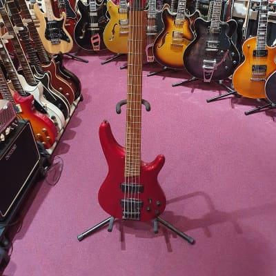 Vester 5-Saiter Bass  Rot for sale