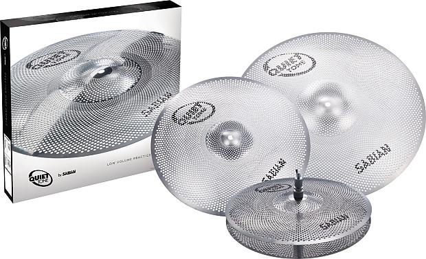 sabian qtpc503 quiet tone practice cymbals set alto music reverb. Black Bedroom Furniture Sets. Home Design Ideas