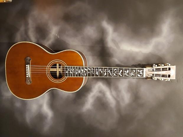 2016 Washburn R320swrk Vintage Series Parlor Acoustic Guitar Reverb