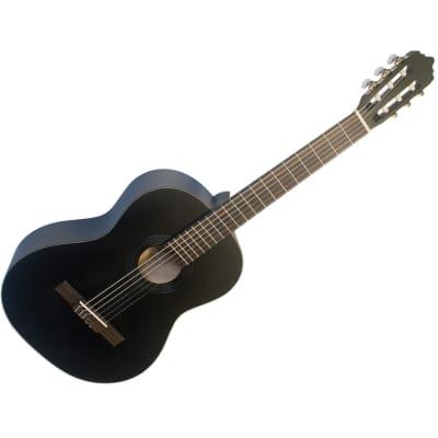 LA MANCHA Rubinito Negro CM - 4/4 Konzertgitarre for sale