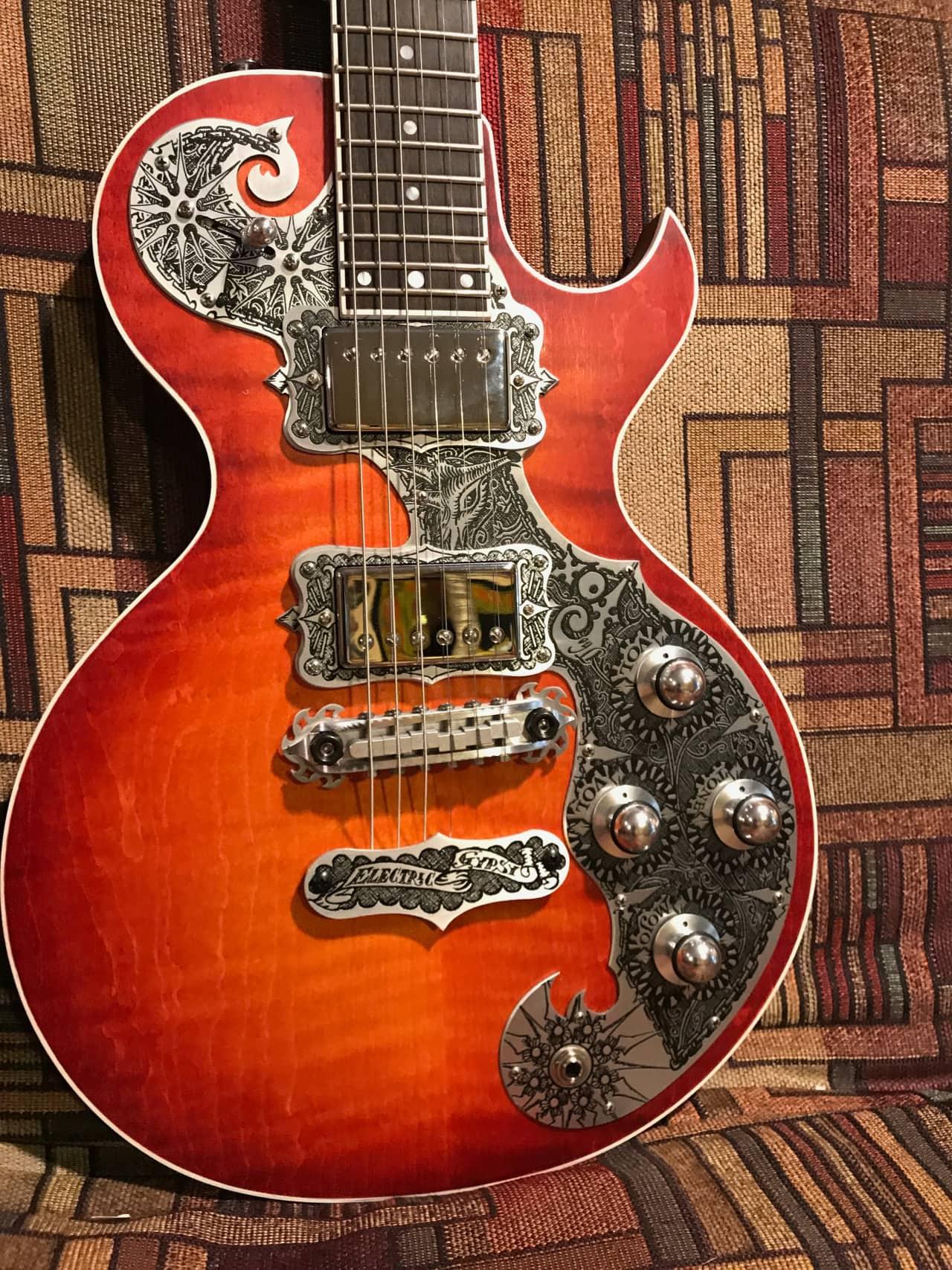 C Fox Guitar For Sale Teye Guitars Th...