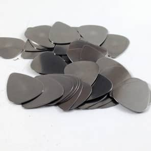 Dunlop Guitar Picks | Stainless Steel | Metal | 351 Style | .51mm