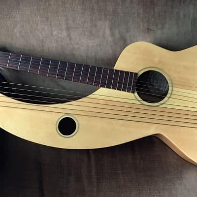 Tonedevil  S-12 HG Harp Guitar 2012 wood for sale