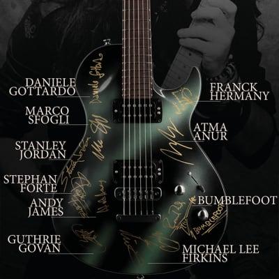 Rare Vigier GV Rock Guitar *Signed by Multiple Artists* - #ShredforJasonBecker Fundraiser for sale