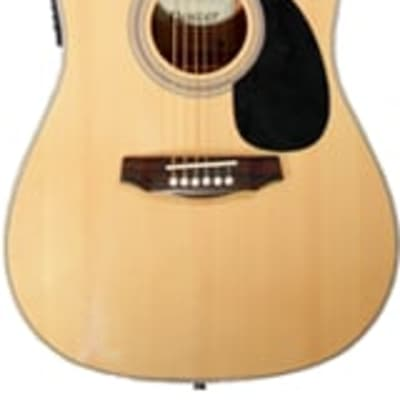 Denver Acoustic Solid Top D44SCE - Natural for sale