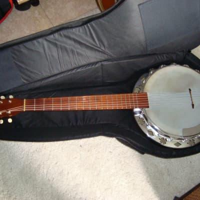 Hopf 6 string banjo 1960 Brown for sale