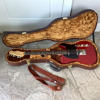2008 Fender Standard American Telecaster  Cherry Stain Satin & Hard Case for sale