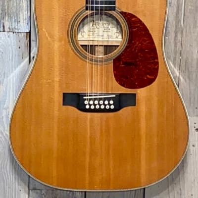 Excellent 1981 Alvarez-Yairi DY-76 12 String Acoustic Dreadnaught Natural Original  Hard Shell Case