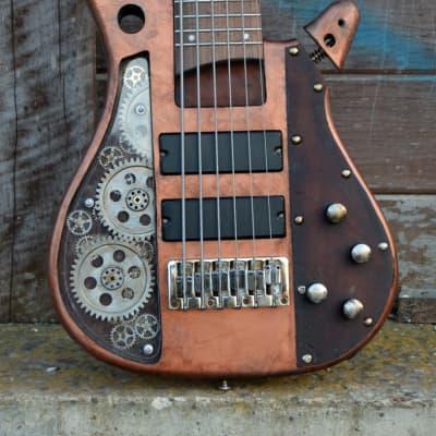 Ibanez ➤ Custom Shop Megabass Steampunk 6 Strings - by Martper Guitars