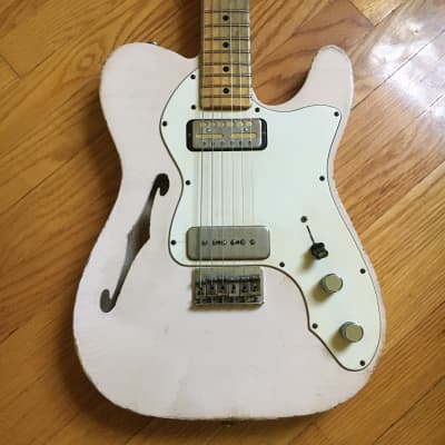 Danocaster Single Cut 2017 Pink for sale